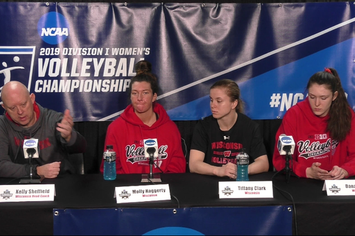 Wisconsin Badgers volleyball: Wisconsin and Texas A&M press conference roundup