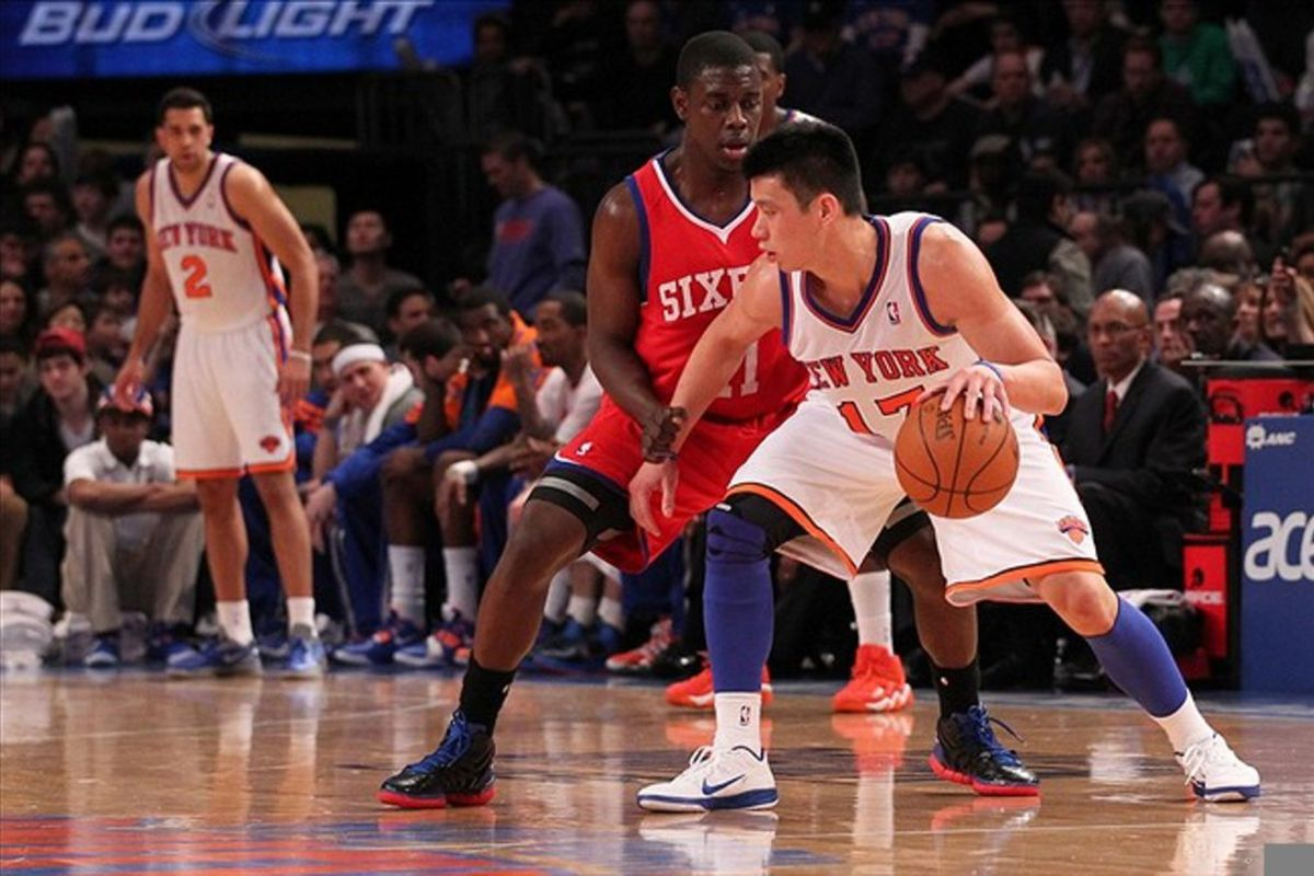 Remember when Jeremy Lin played for the Knicks? Me neither.