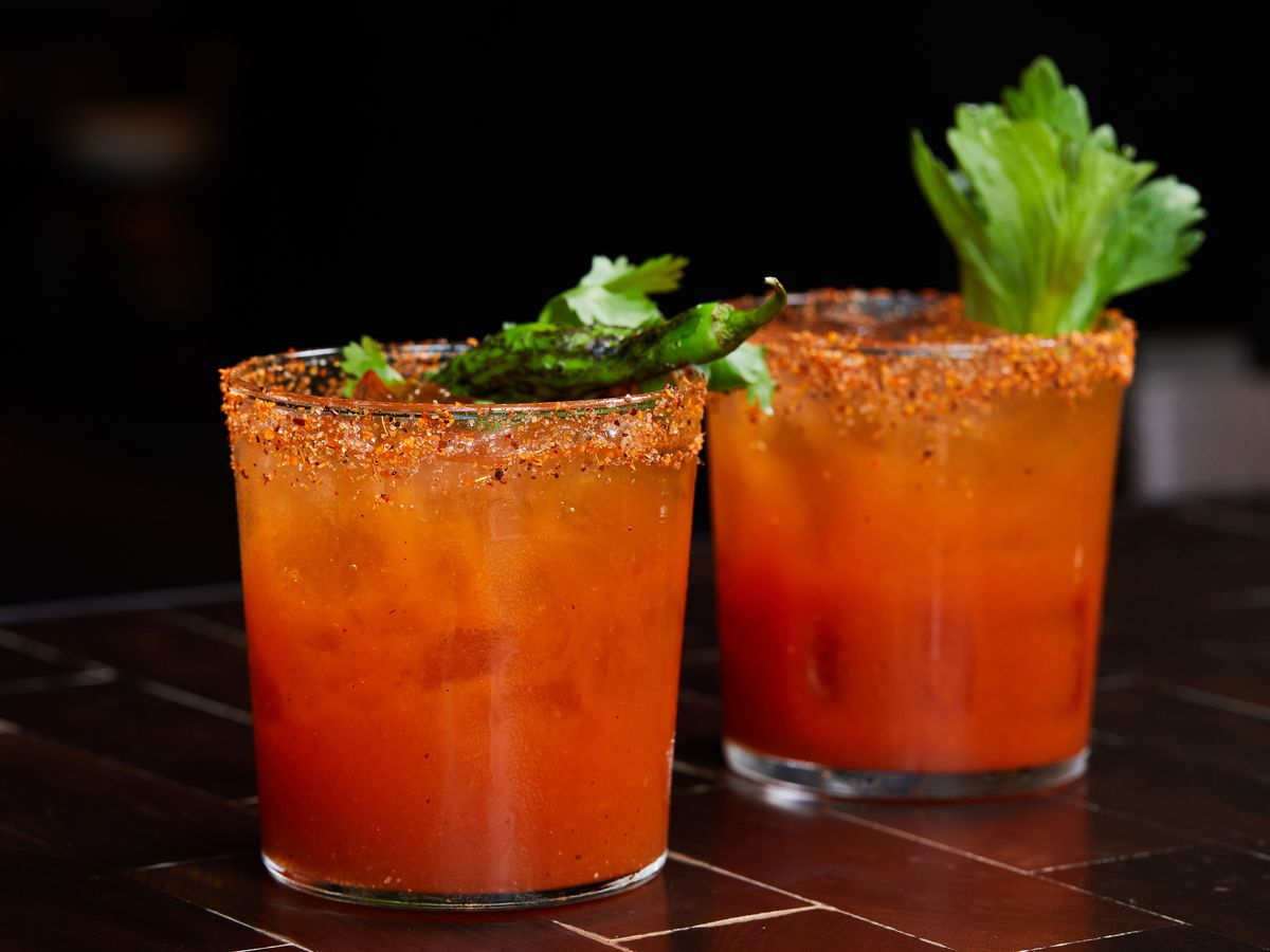 Bloody marys and marias from dLeña