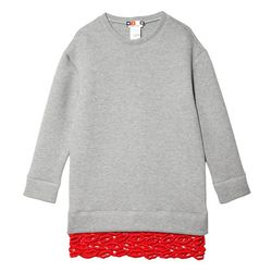 """MSGM lips lace sweater dress, <a href=""""http://otteny.com/shop/clothing/dresses/lips-lace-sweater-dress.html"""">$539</a> at Otte"""