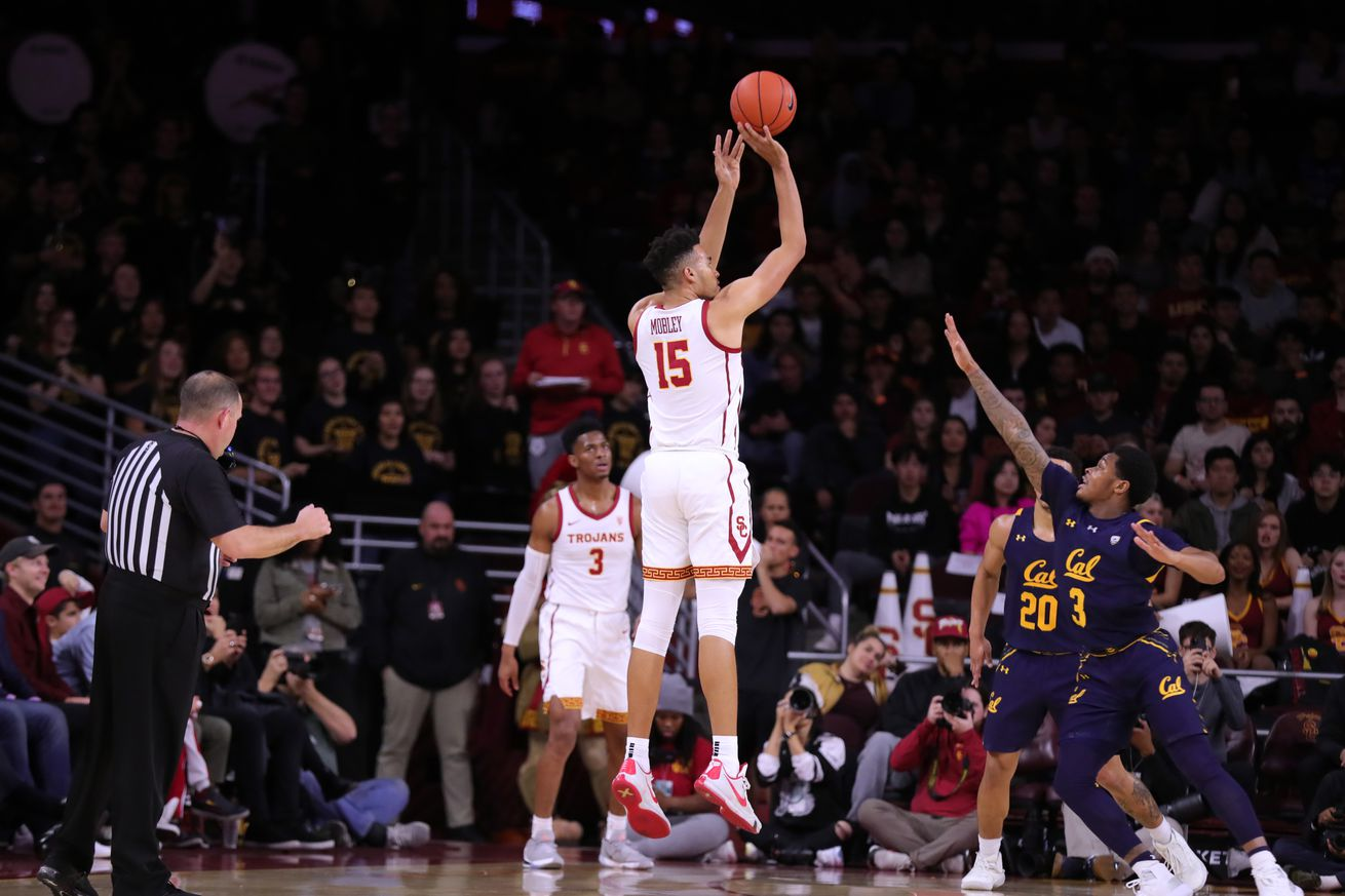 Cal basketball blasted by USC 88-56