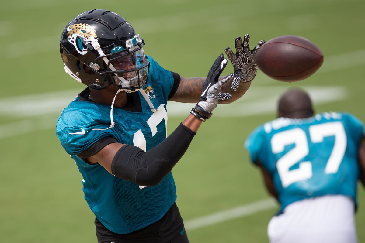 NFL: AUG 29 Jaguars Training Camp, DJ Chark