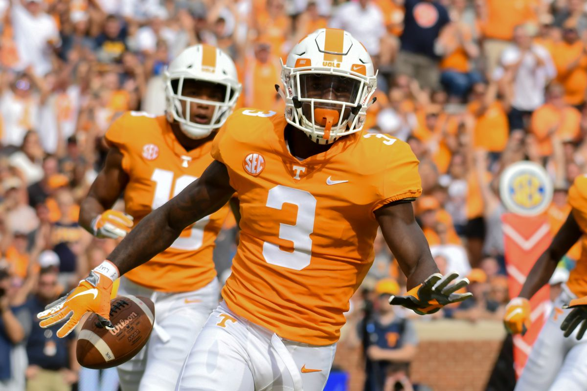 on sale 04ddf 4db90 Tennessee Football vs ETSU Recap: Vols win big in home ...