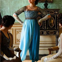 Lady Sybil's Harem Pants: One step for women's rights, and one giant leap for genies everywhere.