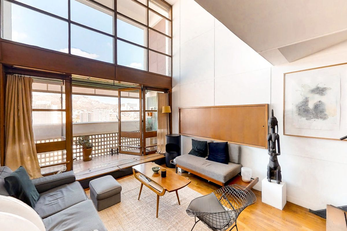 Unit in Le Corbusier's groundbreaking La Cité Radieuse hits market for $740K.
