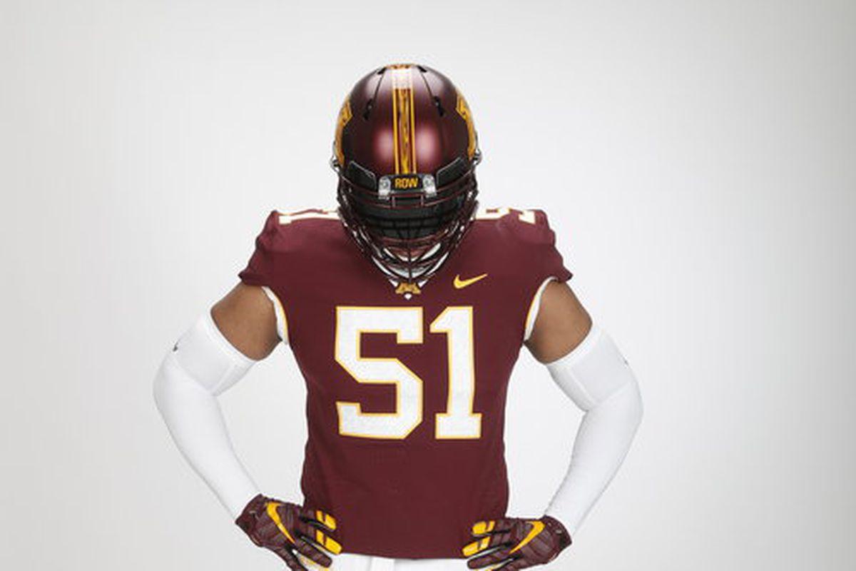 New Gopher football uniform