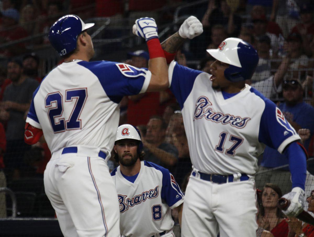 MLB: AUG 02 Reds at Braves