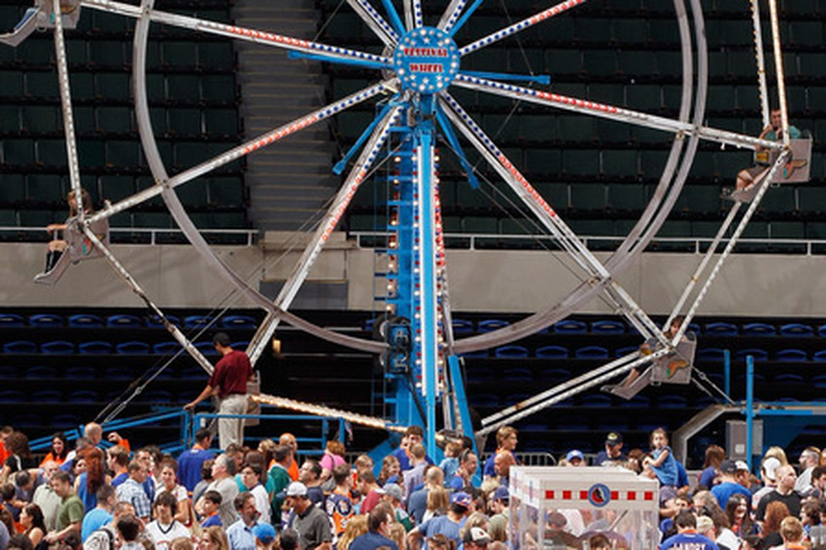 We don't have a recent photo of McIver, so here is a photo of a Ferris wheel.