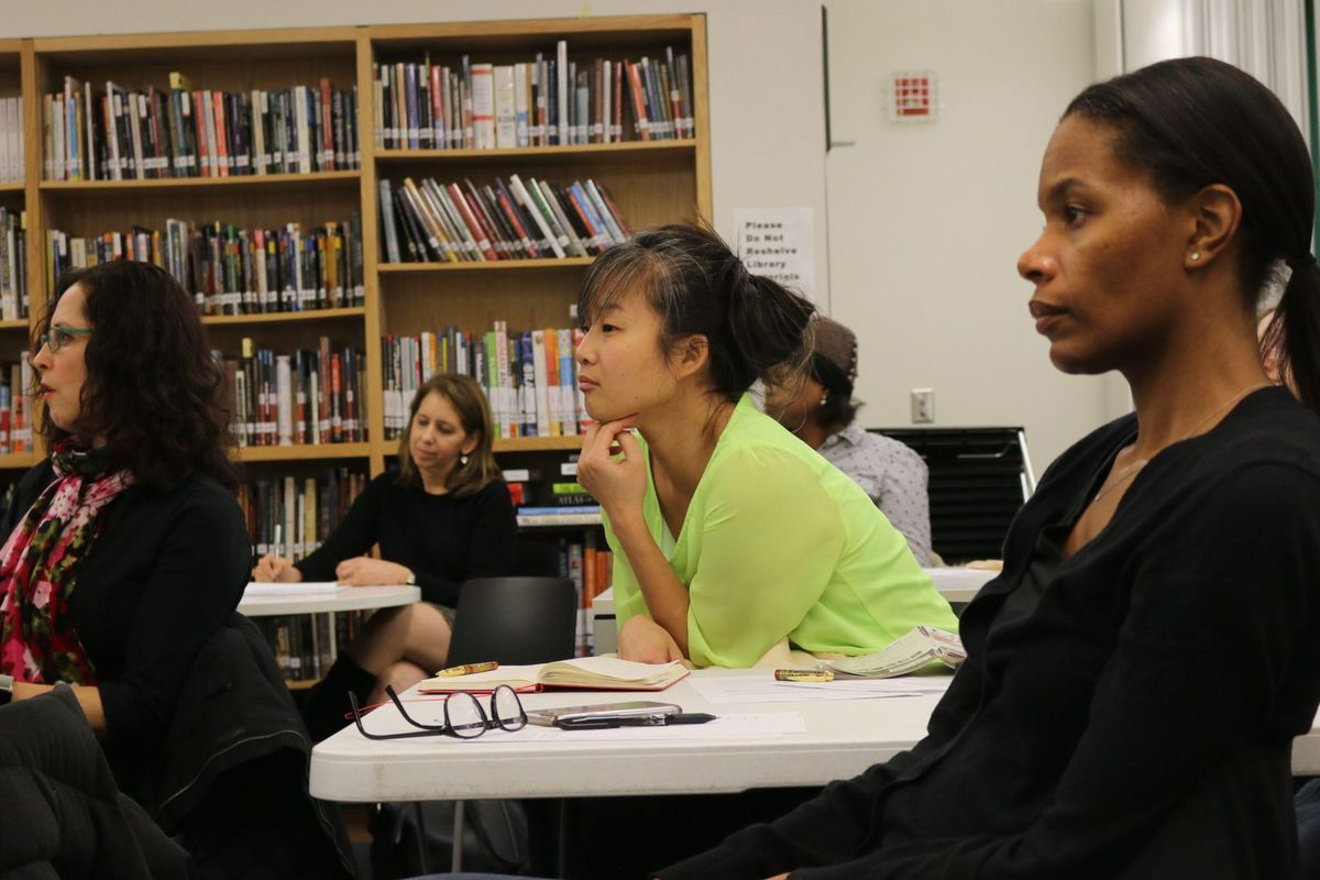 Parents weigh in on a proposal to integrate District 2 middle schools by making them enroll students with a range of academic abilities earlier this year.