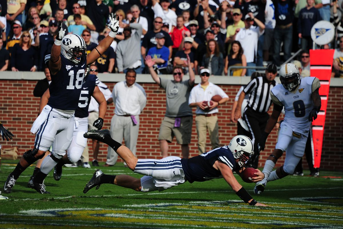 This is the BYU game.  And the week we've had.