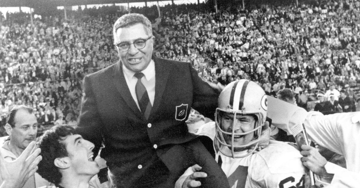 With Aaron Rodgers hosting Jeopardy, it was only a matter of time before Vince Lombardi showed up