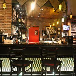 The bar at Grimaldi's.