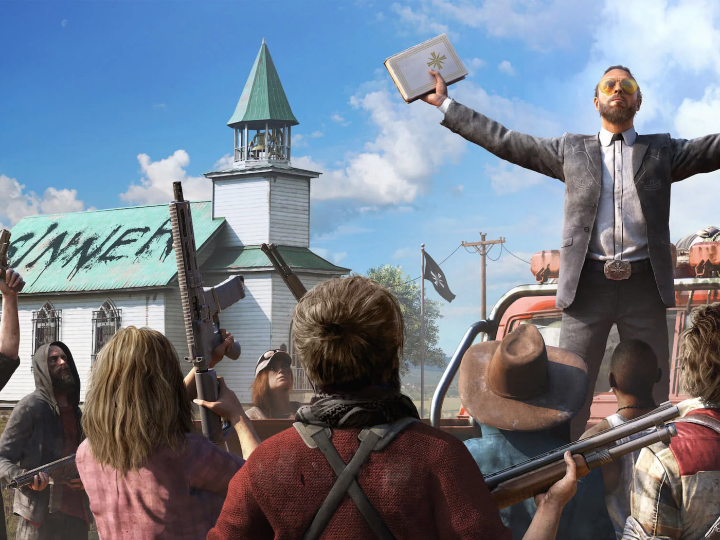 Far Cry 5 Doesn T Want To Offend Anyone So It Will End Up