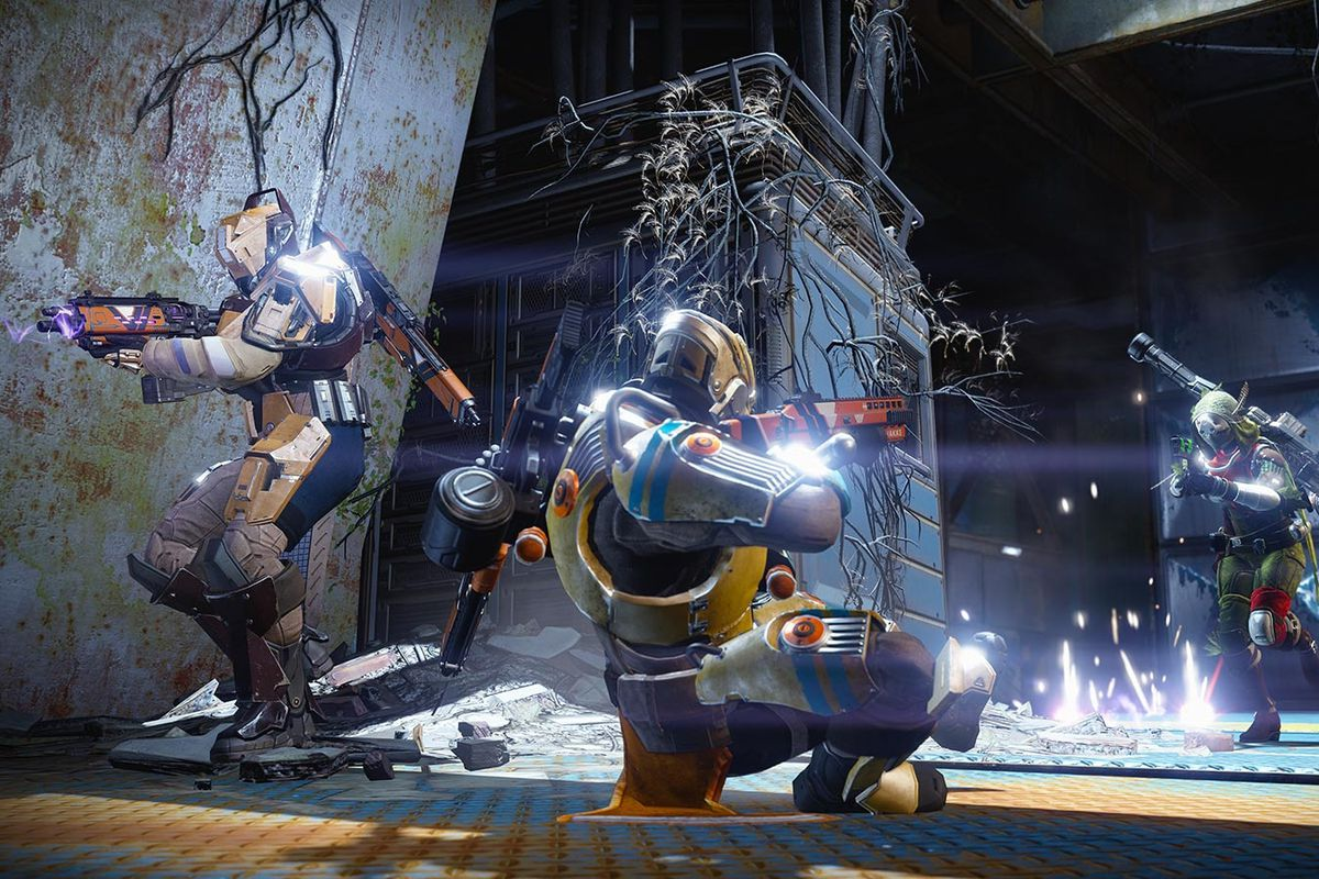 Crucible action on Destiny: The Taken King's Sector 618 map