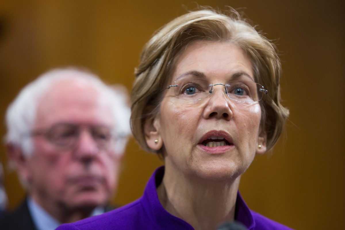 Sens. Warren And Sanders Hold News Conference Calling For Increased Aid For Puerto Rico And U.S. Virgin Island