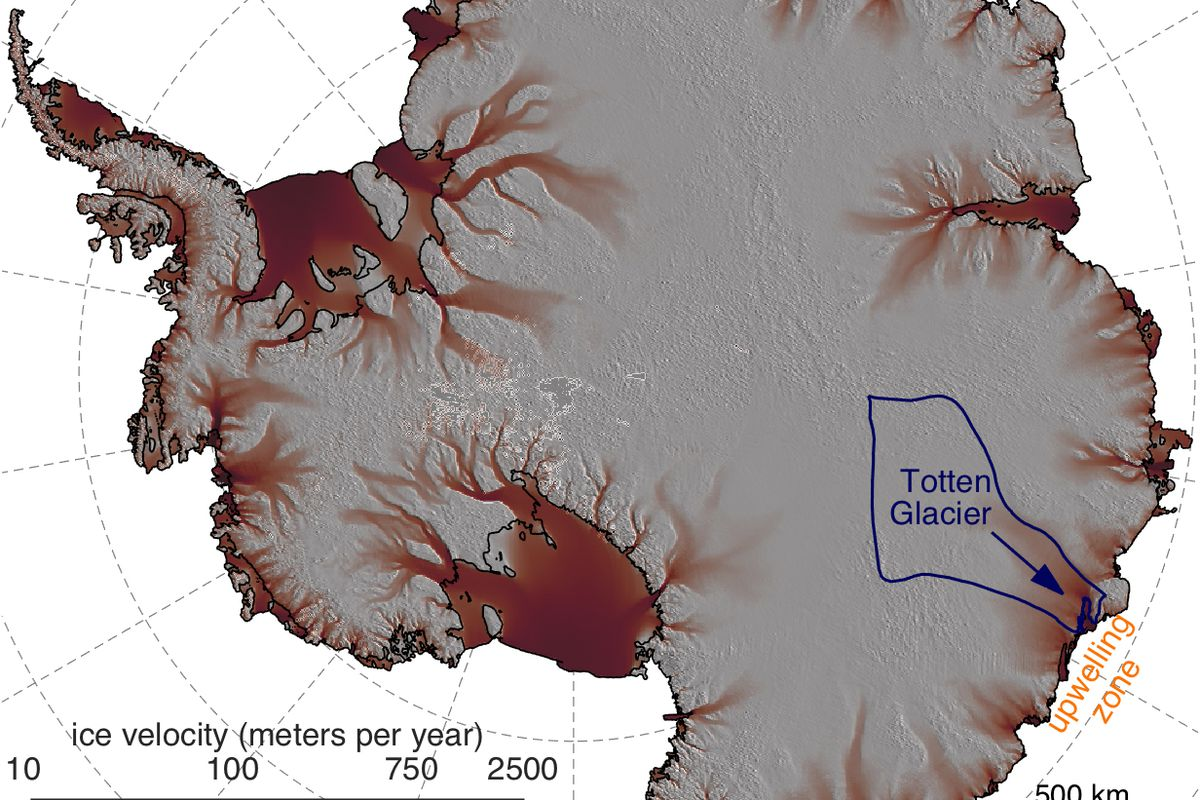 East Antarctica\'s biggest glacier lost ice because of warm water and ...