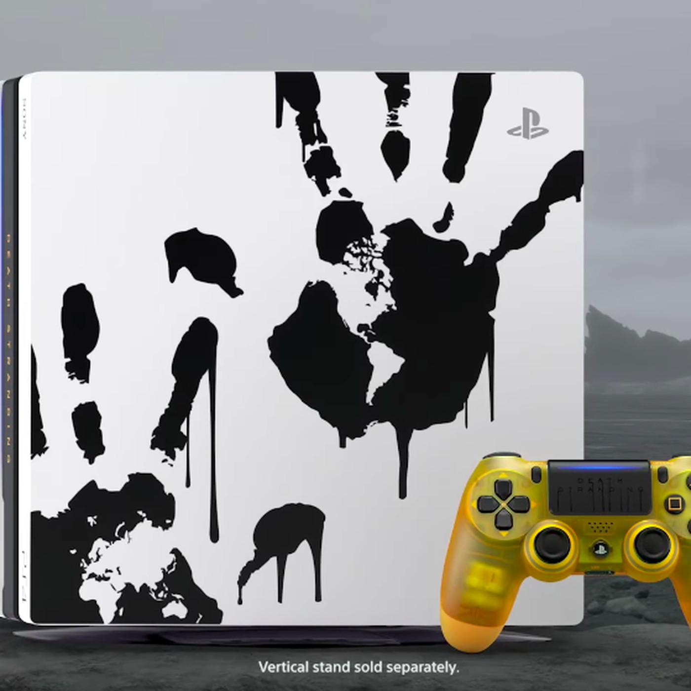 Sony S Death Stranding Ps4 Has A Translucent Bb Pod Controller The Verge