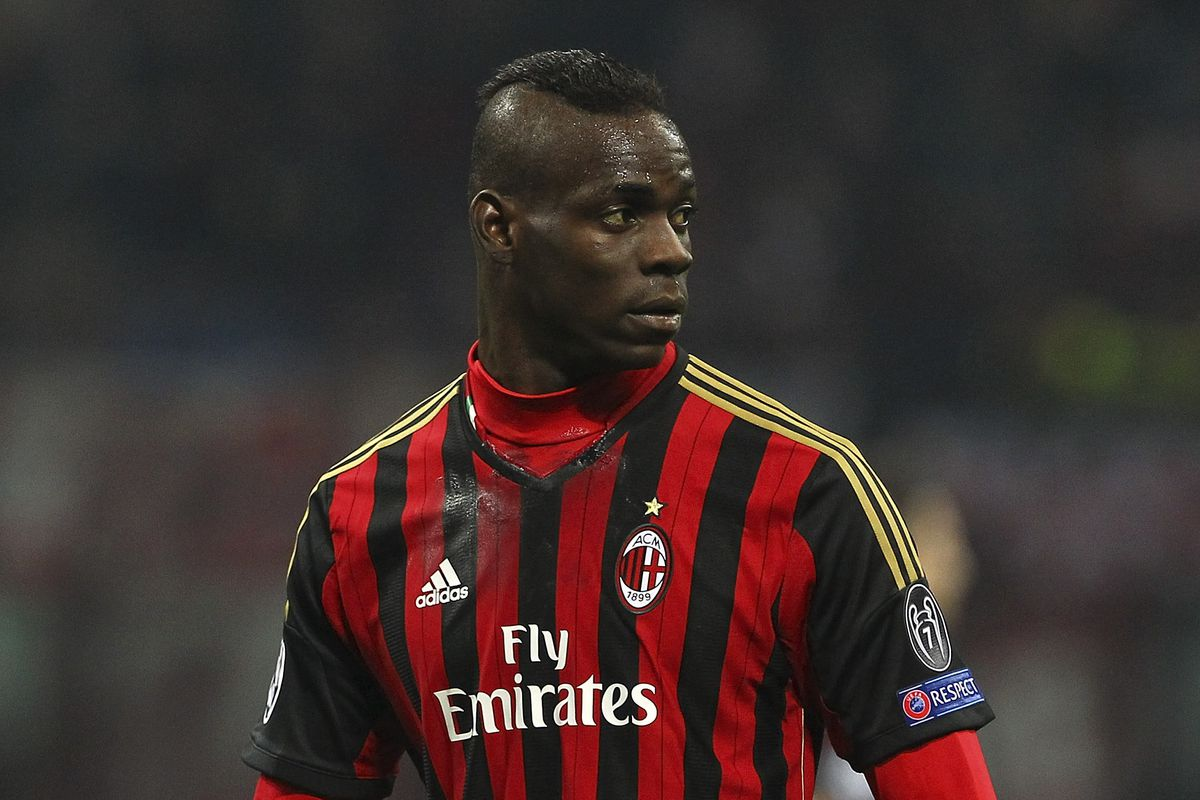 Mario Balotelli trained with Milan today after completing a medical ahead of a loan move from Liverpool.