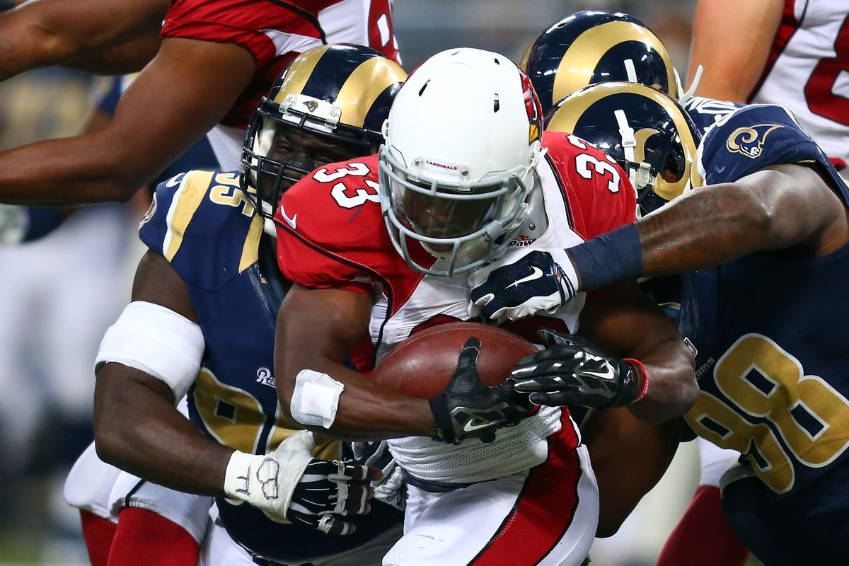 st. louis rams at arizona cardinals: game time, tv schedule, live