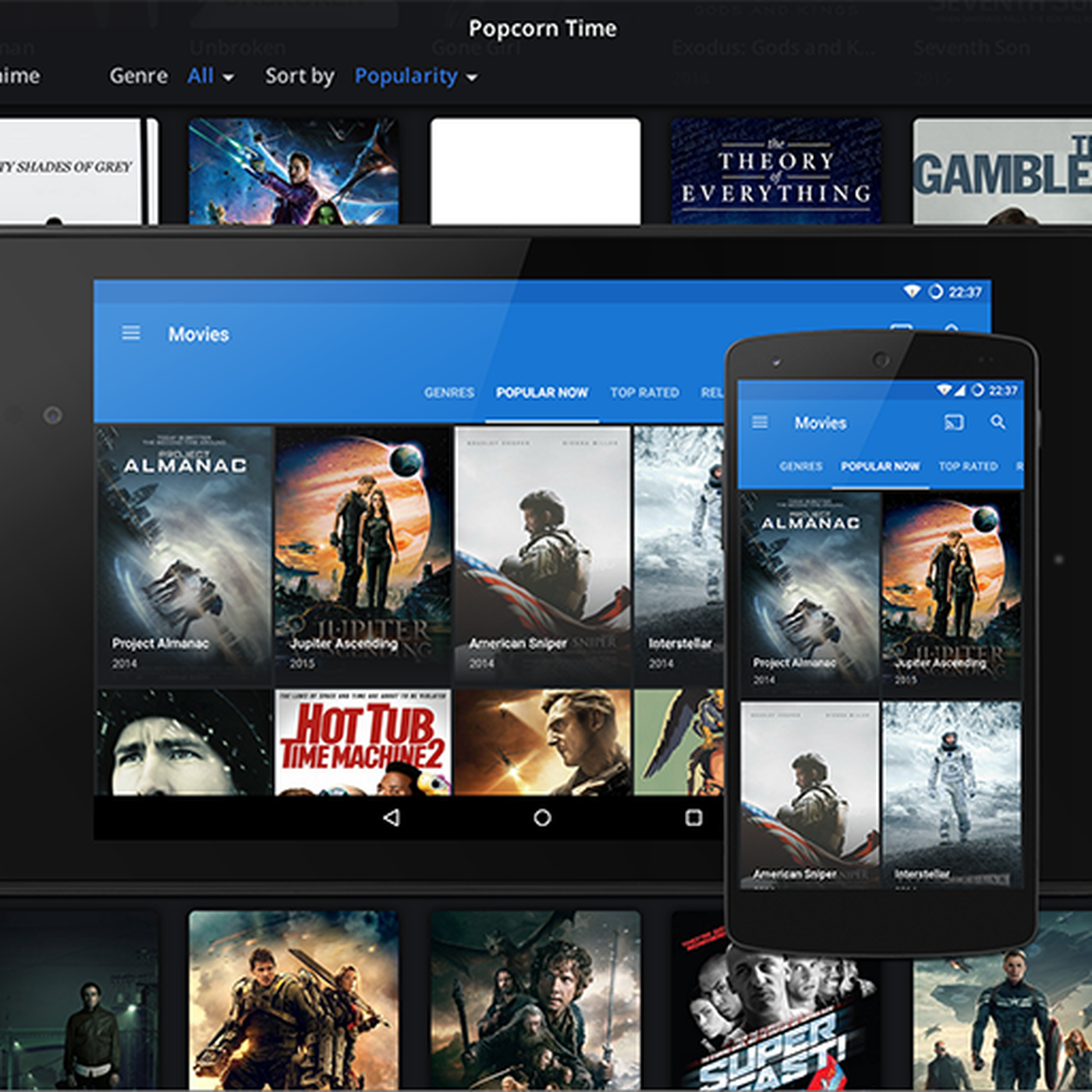 Popcorn Time's best-known app comes back to life - The Verge