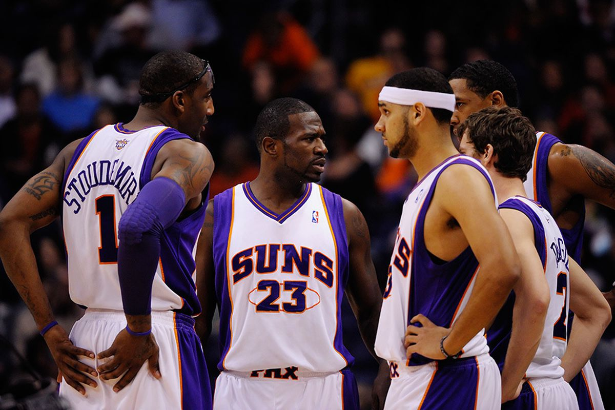 Jason Richardson has struggled to fit his game into the Suns offense dominated by Nash and Stoudemire. Recent changes to the system, however, are freeing him up to show more of the athletic side of his game. (Phoenix Suns)