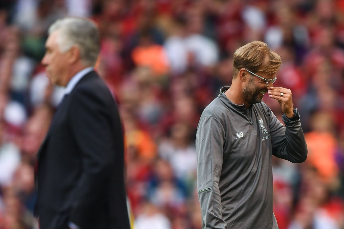 Liverpool v Napoli - Pre Season Friendly