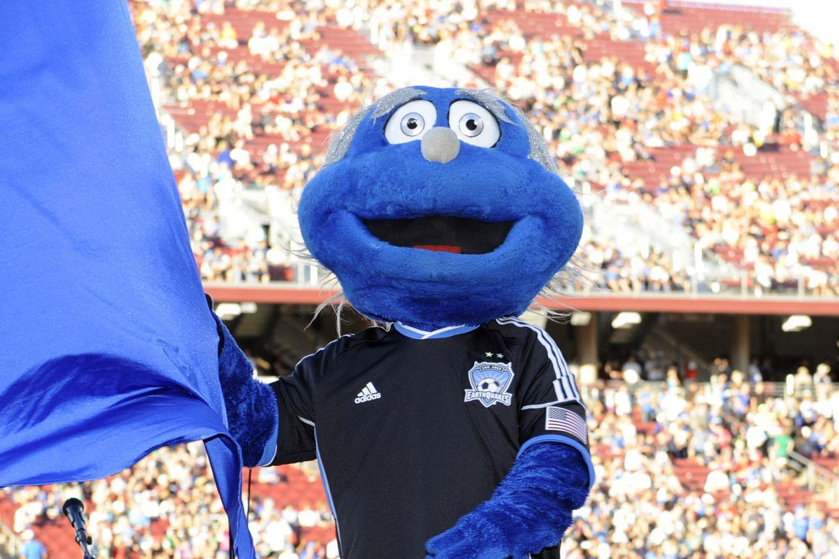 I wasn't aware Grover was the SJ mascot