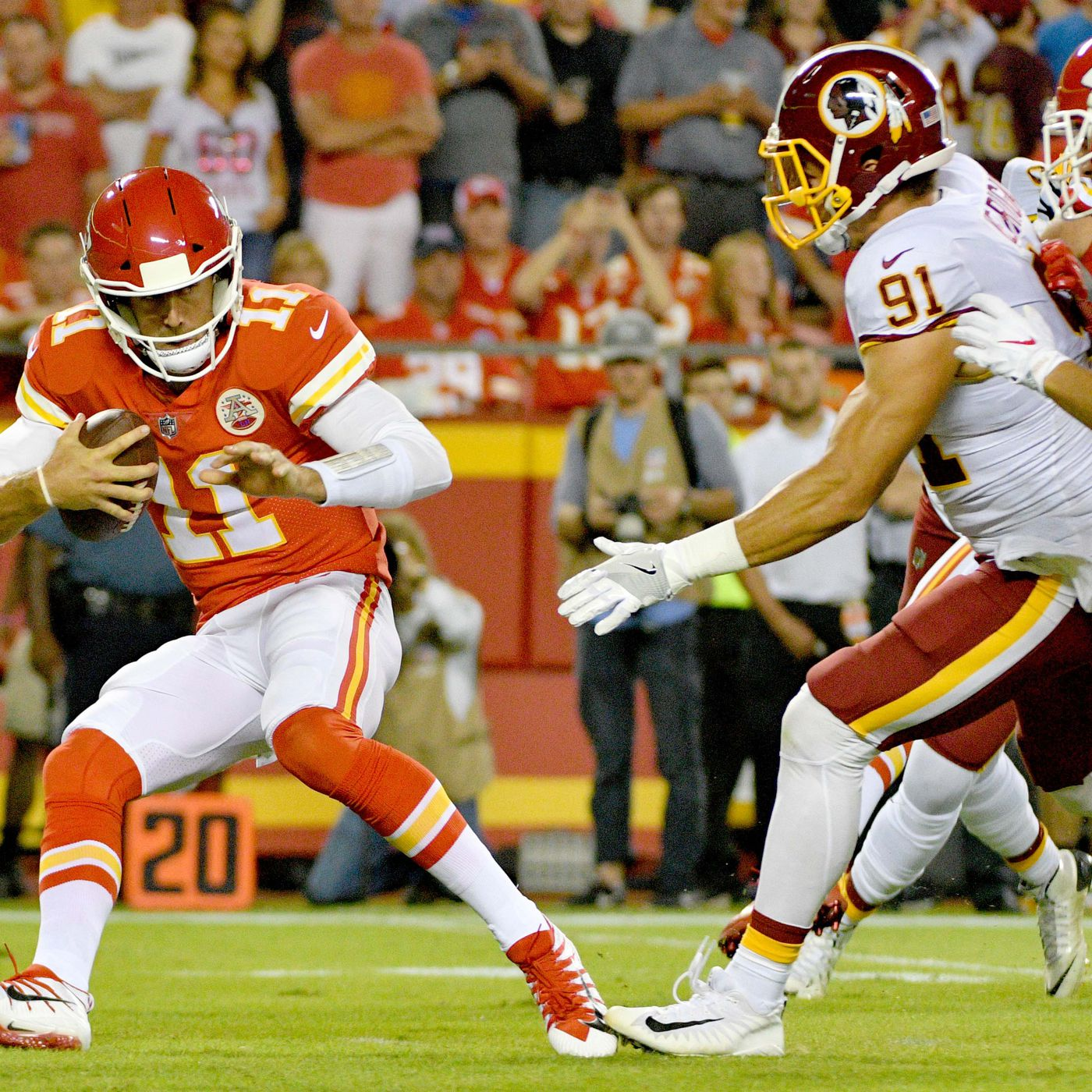 6dc588e2c Skins Stats: A Statistical Review of the Alex Smith Trade - Hogs Haven