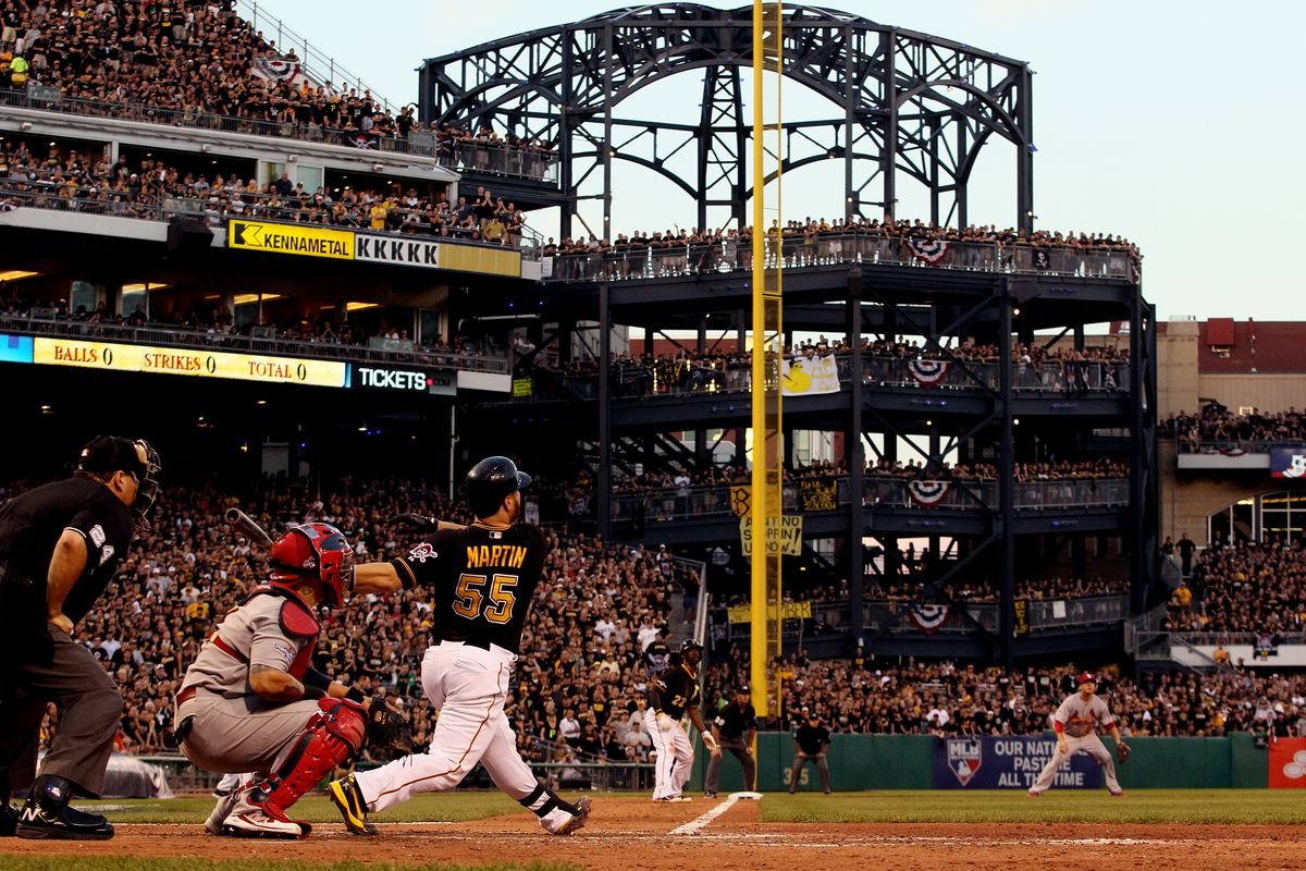 Division Series - St Louis Cardinals v Pittsburgh Pirates - Game Three