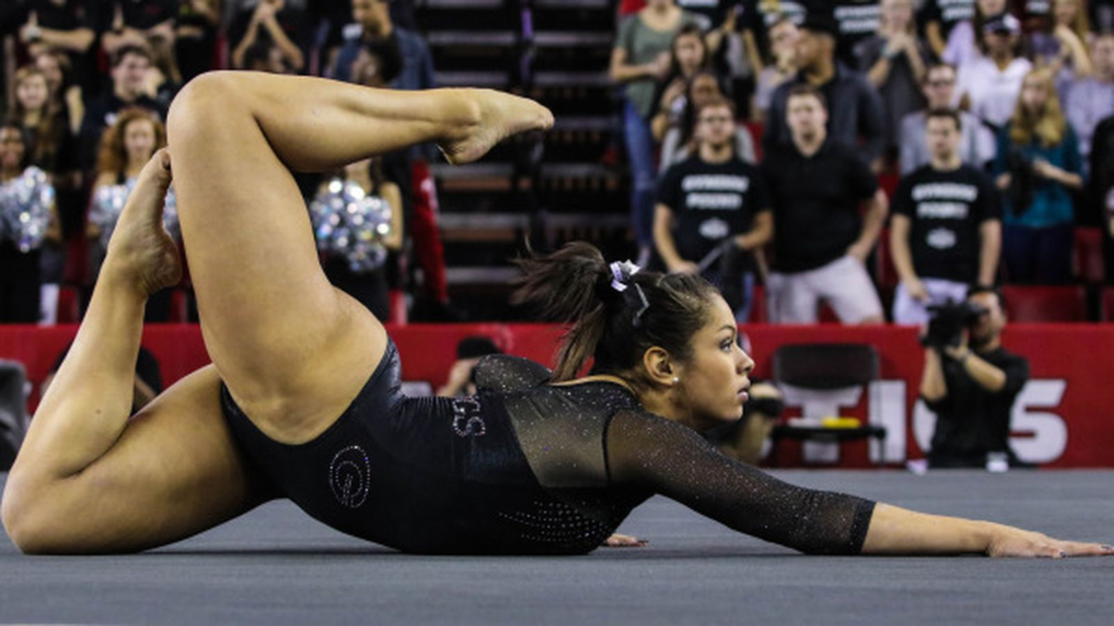 7 gym dogs lose to 1 oklahoma dawg sports for Georgia floor