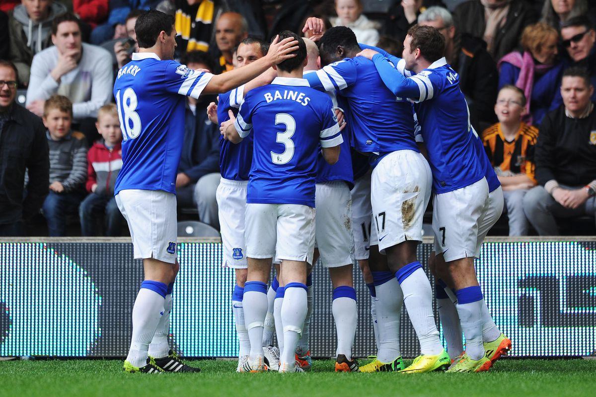 James McCarthy & Romelu Lukaku got the goals last time Everton won at Hull