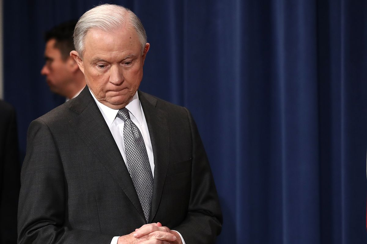 An 'appalling and detestable lie': Sessions forcefully denies colluding with Russians