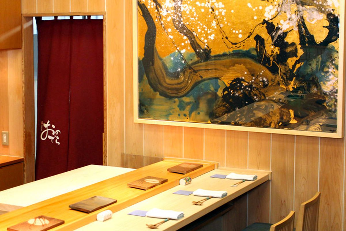 Sushi Ginza Onodera in Honolulu, Hawaii