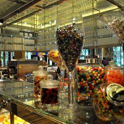 The dessert kitchen at Bacchanal Buffet.