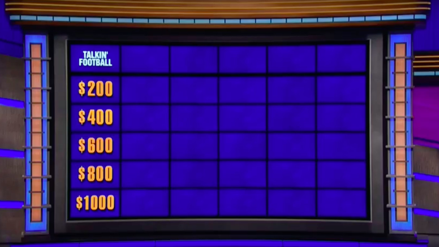 Jeopardy!' contestants could not answer a single football