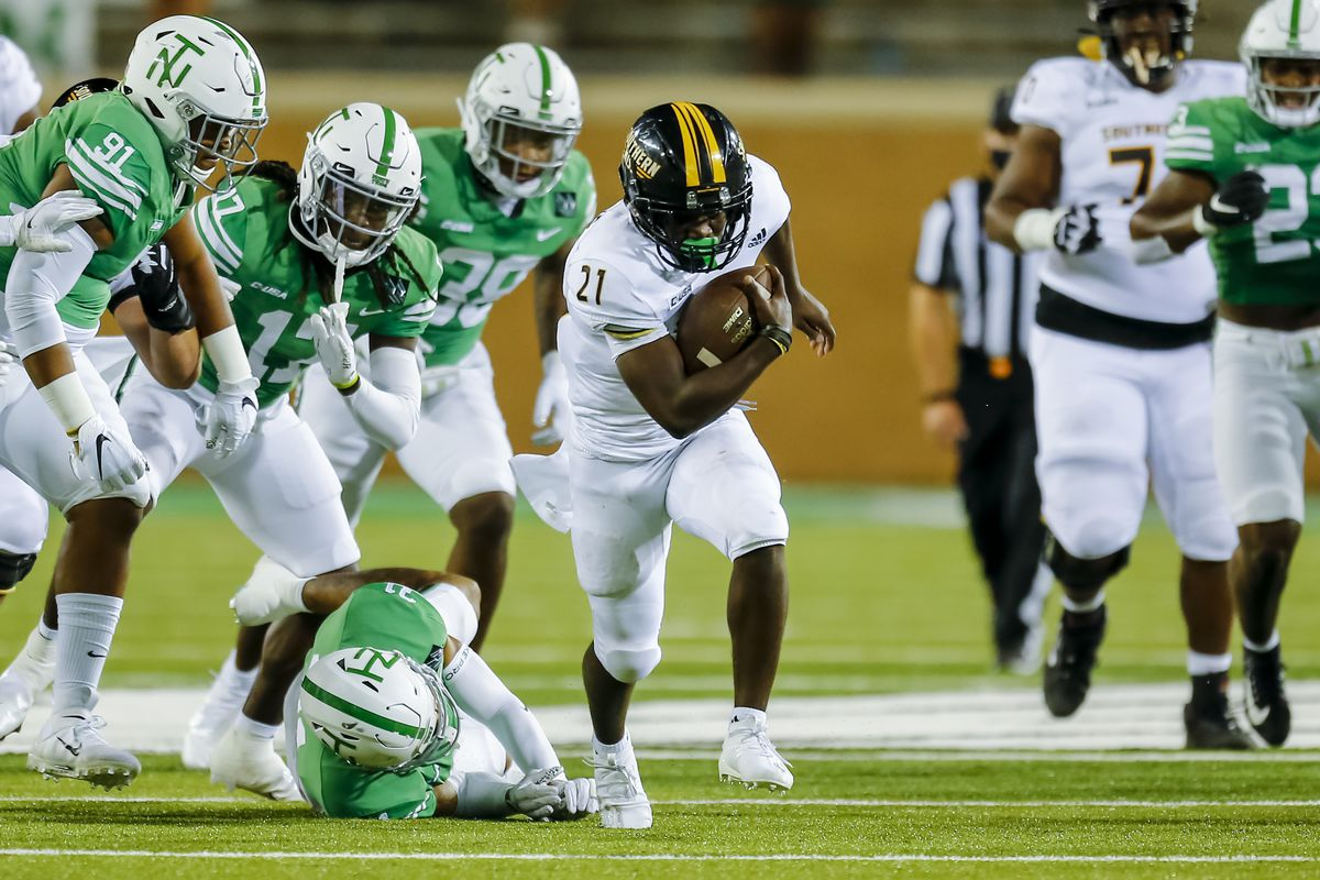 COLLEGE FOOTBALL: OCT 03 Southern Miss at North Texas