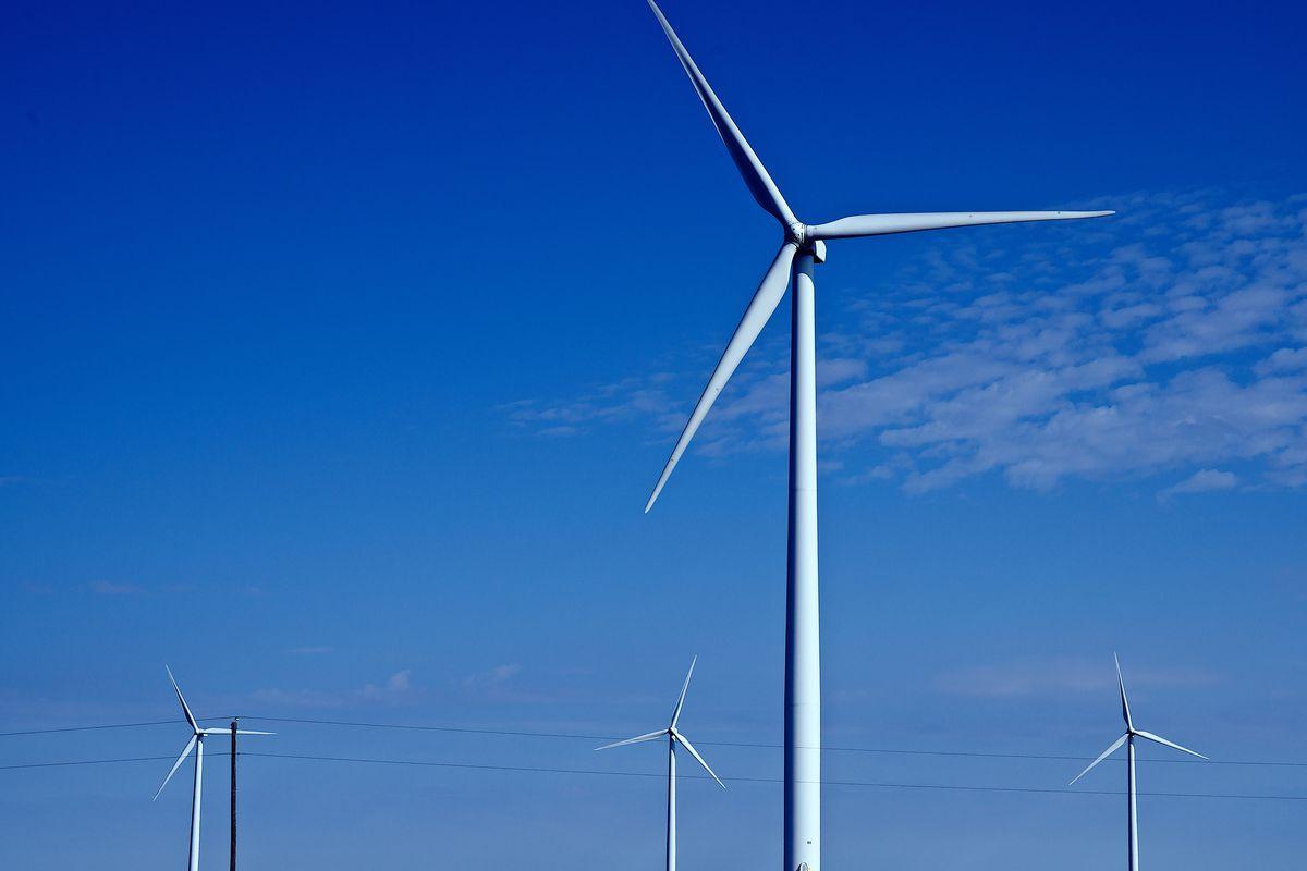 Spearville Wind Farm Turbines