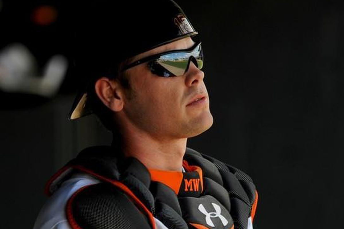 Does it get any cooler than Matt Wieters? I don't think that it does.
