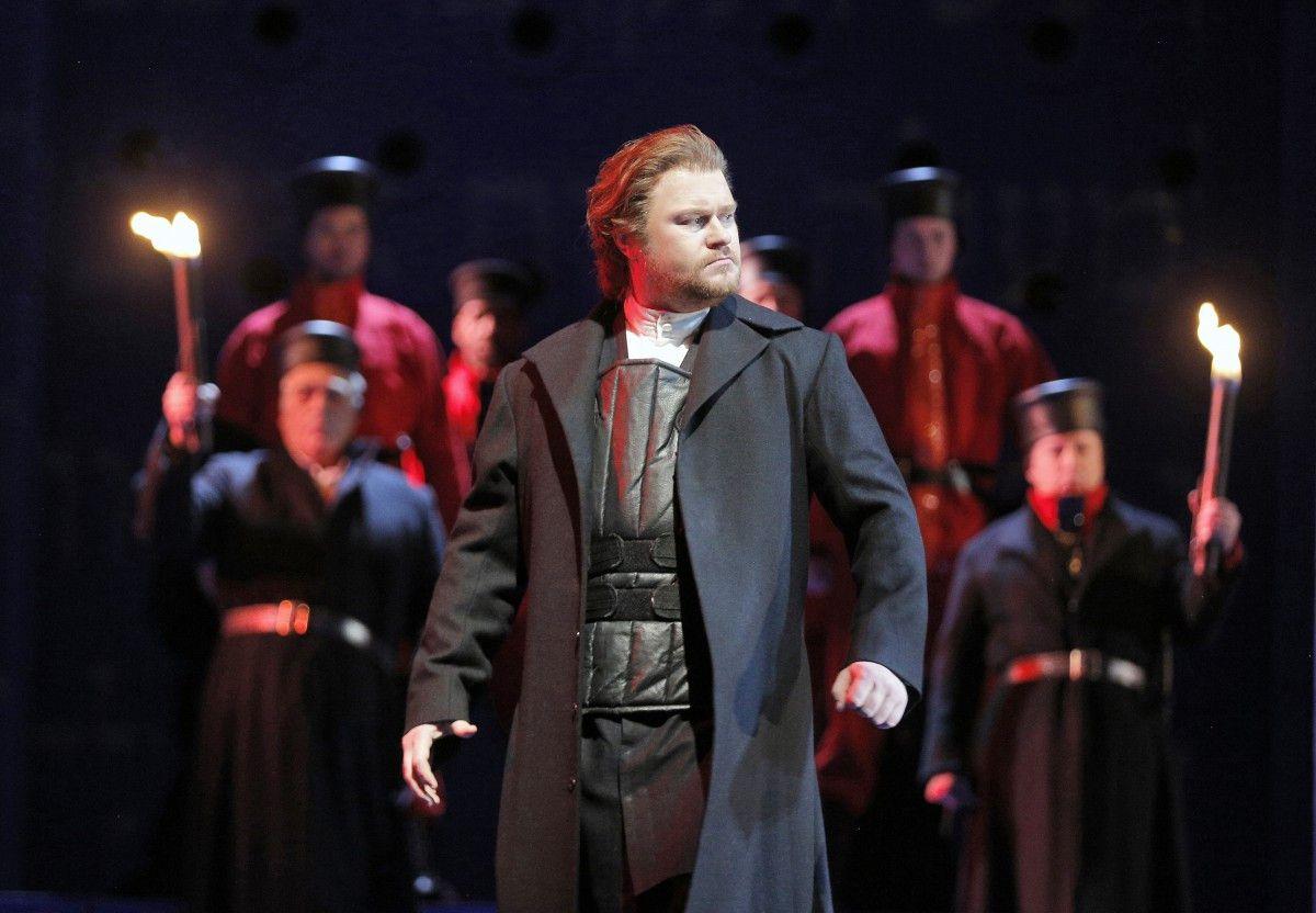 "Tenor Sergey Skorokhodov as Ismaele in ""Nabucco."" | Cory Weaver/Lyric Opera of Chicago"