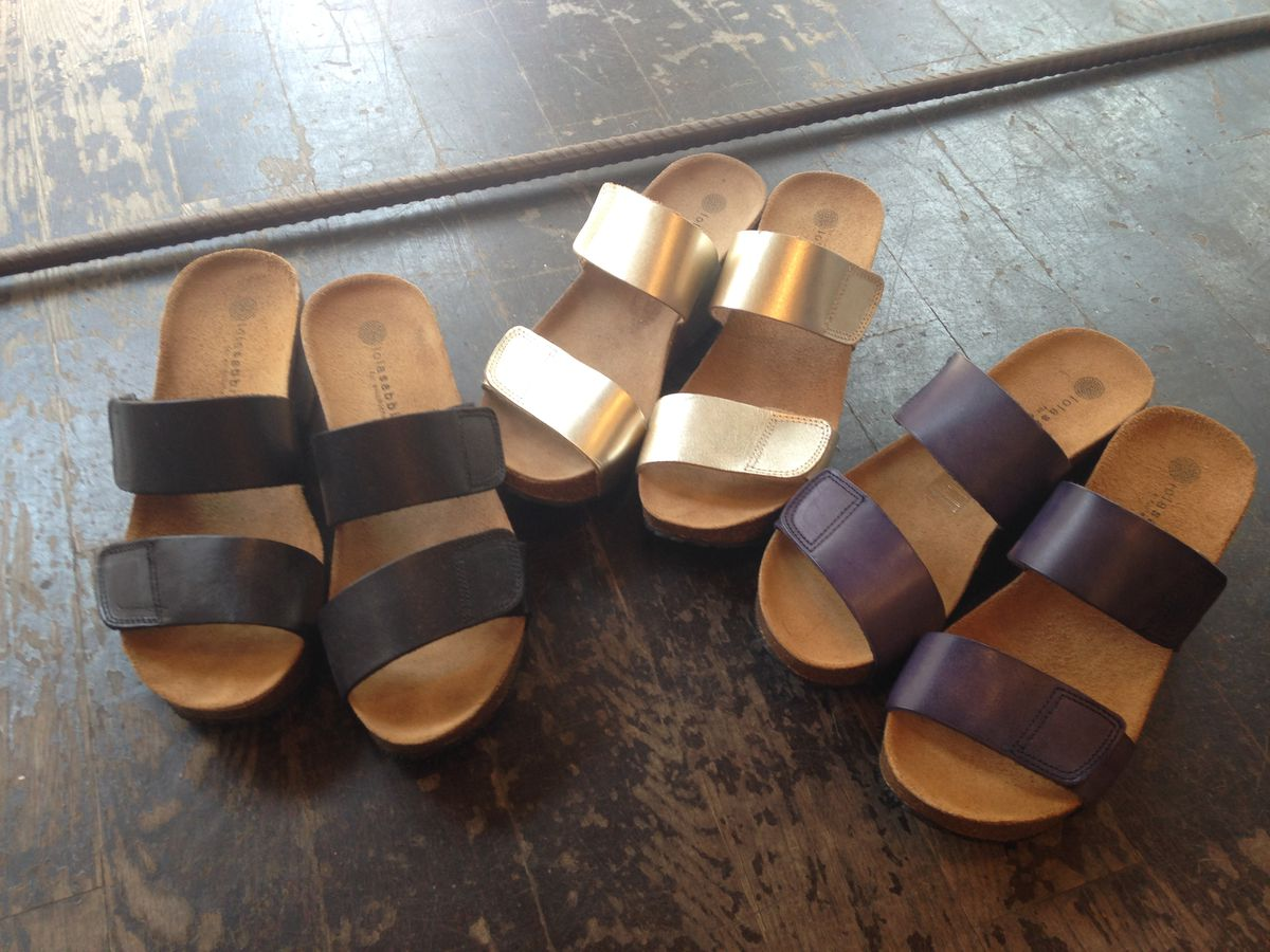 """Lola Sabbia sandals at the Designer Collective <a href=""""http://ny.racked.com/archives/2014/07/30/the_designer_collective_sample_sale.php"""">sample sale</a>"""