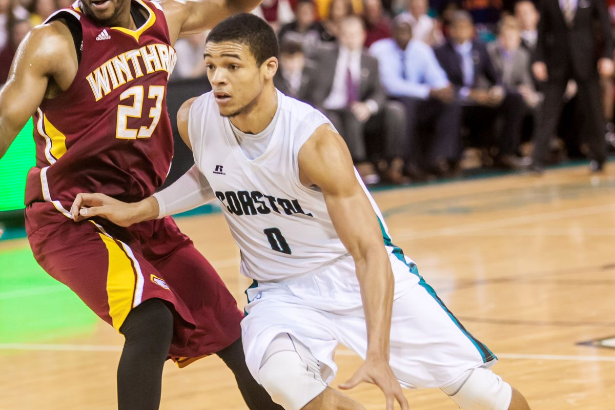 Warren Gillis & Coastal Carolina are 40 minutes away from their second straight NCAA tournament appearance.
