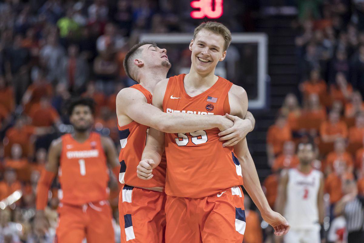 NCAA Basketball: Syracuse at Virginia