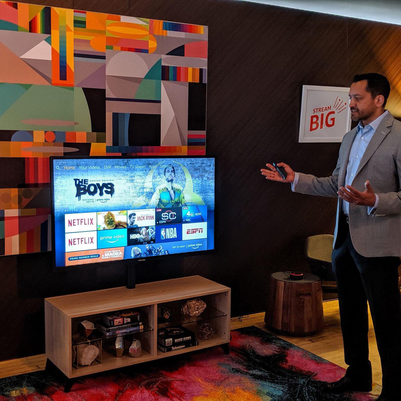Amazon launches its first inexpensive Fire TV televisions with Dolby