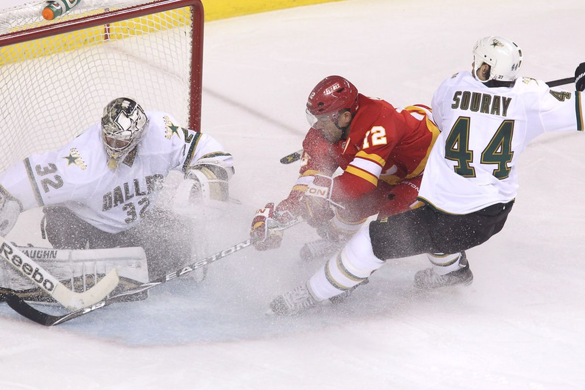 Kari Lehtonen will start in net Tuesday @ Minnesota. He allowed four goals in the second period there on January 21st.