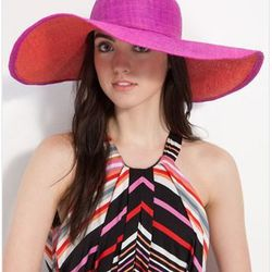 "<a href=""http://shop.nordstrom.com/S/laundry-by-shell-segal-rachel-sun-hat/3241238?origin=category&resultback=4416""> Laundry by Shelli Segal 'Rachel' sunhat</a>, $68.00, nordstrom.com"