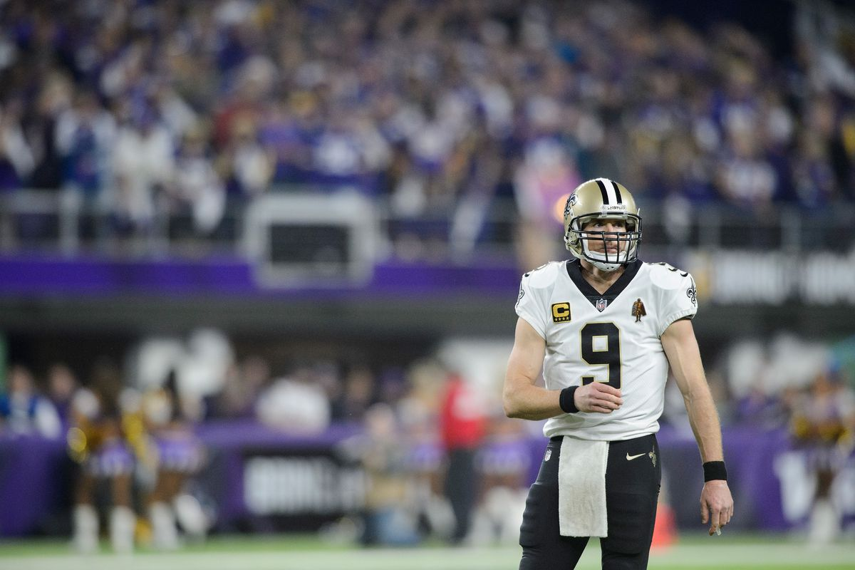 huge discount 0a0c7 1ee27 The Saints finally re-signed Drew Brees before free agency ...