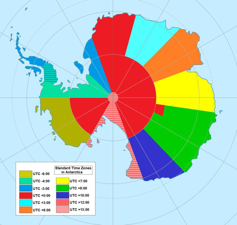 Time antartica