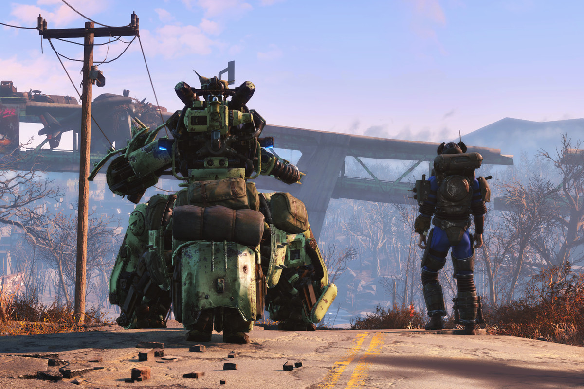 Building a killer robot BFF in Fallout 4's first add-on is ...