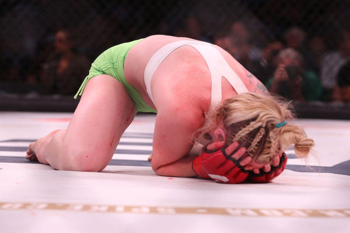 Creepy, unbalanced MMA fans refuse to stop harassing Bellator's Heather Hardy