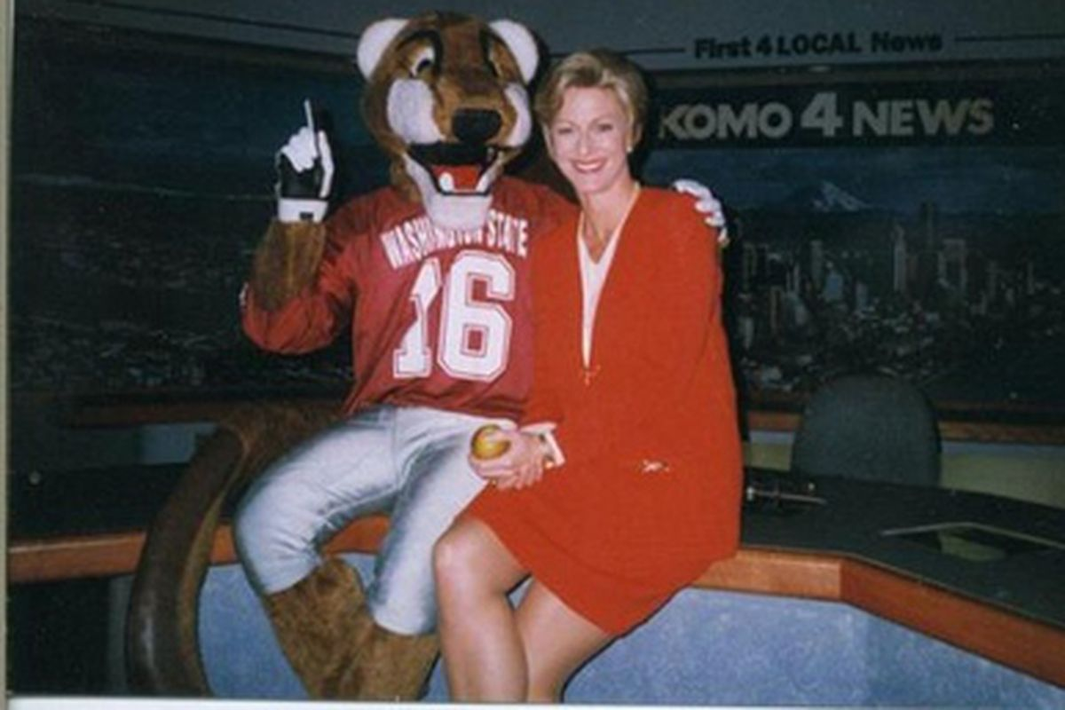 Kathi Goertzen, one of the all-time great Cougs.
